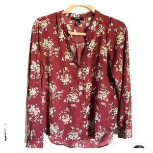 Forever 21 long sleeved blouse